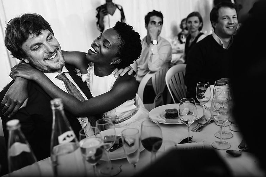 Loire valley wedding photographer - diner